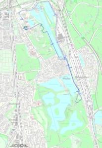 Winterlaufserie Strecke 10 km